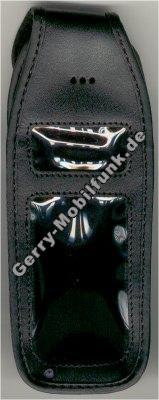 Ledertasche schw.mit Gürtelclip Motorola C160