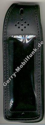 Ledertasche schwarz mit Gürtelclip Panasonic G520