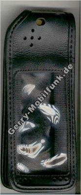 Ledertasche schwarz mit Gürtelclip Ericsson A1018S