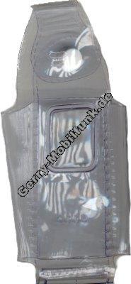 Tasche transparent Drehgürtelclip Alcatel Easy DB View-DB Max-DB Club-DB