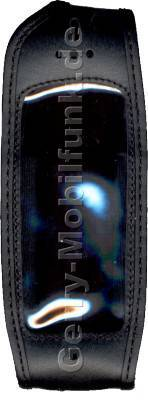 Ledertasche schwarz mit Gürtelclip Ericsson R380