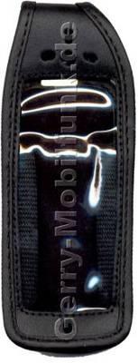 Ledertasche schwarz mit Gürtelclip Philips Azalis