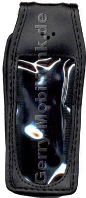 Ledertasche schwarz mit Gürtelclip Nokia 7210i