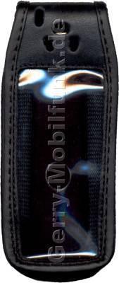 Ledertasche schwarz mit Gürtelclip Panasonic GD67