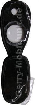 Ledertasche schwarz mit Gürtelclip LG C2200
