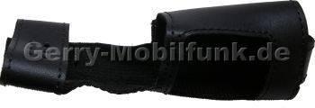 Ledertasche schwarz mit Gürtelclip Nokia 7280