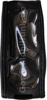 Ledertasche schwarz mit Gürtelclip SonyEricsson K750i