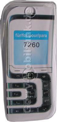 Kondomtasche für Nokia 7260 exclusiv invisible case transparent , unauffälliger und effektiver Schutz für Ihr Handy