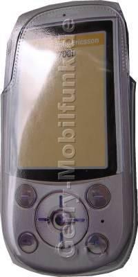 Kondomtasche für SonyEricsson S700 exclusiv invisible case  transparent, unauffälliger und effektiver Schutz für Ihr Handy