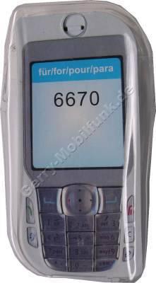 Kondomtasche für Nokia 6670 exclusiv invisible case transparent , unauffälliger und effektiver Schutz für Ihr Handy