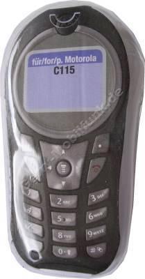 Kondomtasche für Motorola C115 exclusiv invisible case transparent , unauffälliger und effektiver Schutz für Ihr Handy
