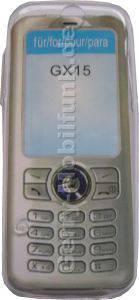 Kondomtasche für Sharp GX15 exclusiv invisible case transparent , unauffälliger und effektiver Schutz für Ihr Handy