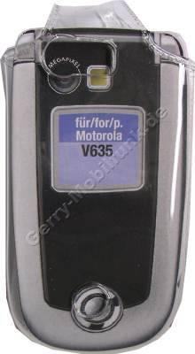 Kondomtasche für Motorola V635 exclusiv invisible case transparent , unauffälliger und effektiver Schutz für Ihr Handy