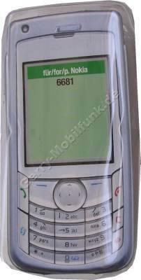 Kondomtasche für Nokia 6681 exclusiv invisible case transparent , unauffälliger und effektiver Schutz für Ihr Handy