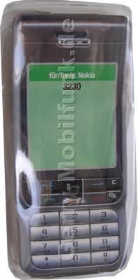 Kondomtasche für Nokia 3230 exclusiv invisible case transparent , unauffälliger und effektiver Schutz für Ihr Handy
