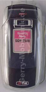 Kondomtasche für Samsung Z500 exclusiv invisible case transparent , unauffälliger und effektiver Schutz für Ihr Handy